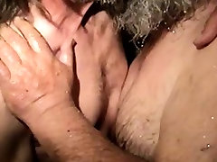 Redneck pee ass fucked in the shower