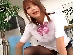 Japanese secretary nylons foot fetish sex