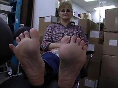 Ardell mature feet