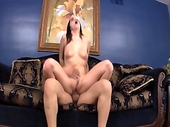 Hot Chick bends Over For His Dick