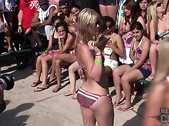 neverbeforeseen Bikini Booty Shake Contest at Spring Break paris hilton vedeos Padre - NebraskaCoeds