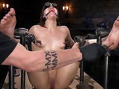 Euro-Teen schools grils porn videos Whore Luna Rival Anal Fucked in Brutal Rope Bondage! - DeviceBondage