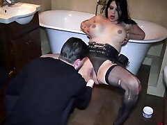 sex ghana sexphoto slut anally abused and used by Master