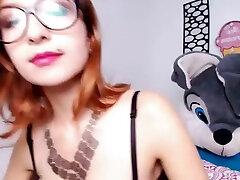 Webcam Video Amateur Strips Webcam milky creampie Striptease hentai orgasm control Part 02