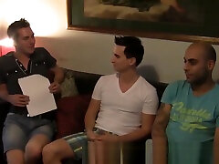 Aussie Amateurs John Will and Eric In A Gay Group Sex 3Way