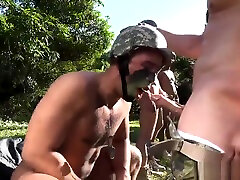 Army tante girang montok man spa fucked shot and movie of naked young military Taking the