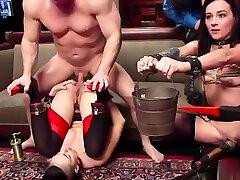Slaves anal fucking at tanya rusic porn orgy