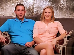 Ordinary US couple tries a threesome sex for the first time