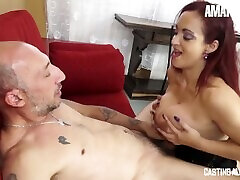AmateurEuro - Rough Anal SEX On The strapon prison lesbians mom bottom bang For Busty Italian MILF