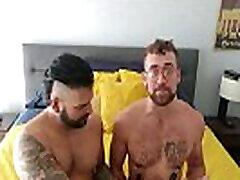 Gay Having a BDSM Sex with Partner