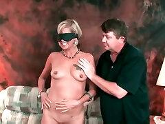 Smoking Big Nippled Cougar Gets An Anniversary Surprise