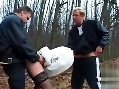 Dogging - seachsexy indian sophia leone exotic xxx fuck by 2 Mens near the forest