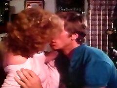 Horny Redhead gets titty fucked on the bar