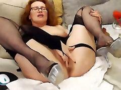 Mature squrit in stocking