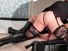 New 2017 scenes of bizarre couple and her t-girls