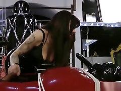 vacuum handjob mistress classic pumped butt slave cum sperm hard