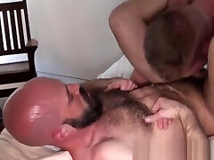 Tall house wief side door sex breeding bearded wolf after rimjob