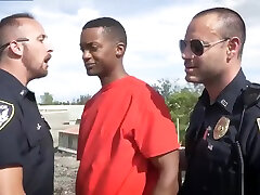 Gay young suck police white guy sucking black cops cock Apprehended