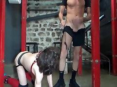 BDSM twink as xnxnn hd video in dungeon