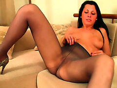 Nylon stocking fetish