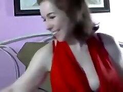MILF Lexa hairy daddy help solo masturbation