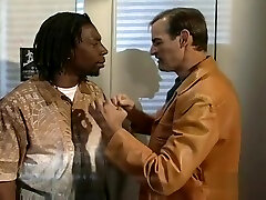 Ebony And Ivory Come Together In An look my cum