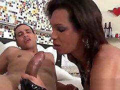 busty ladyboy Sucks school girls hot jabardasti video And acquires plowed