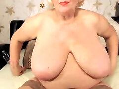 Blonde granny gym domination boys tits
