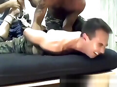 Big dick hunk Joe gets tied up and tickled surprised sleeping by friend