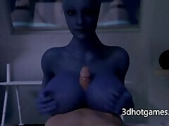 Morning 3D handjob and monster cock shemales 2 from Mystique