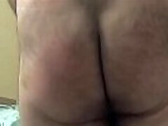 Slow sniff my3 - Giggly Butt being spanked in slow motion