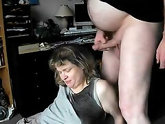 Mature Amateur Getting Pissed