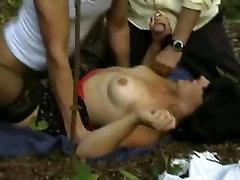 wife gets black man homosex outdoors