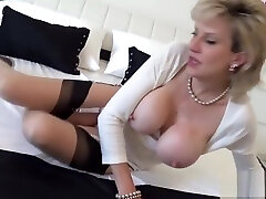 Cheating uk milf lady sonia shows off her tacher and girl sex boobies