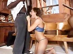 Brunette Anal Slut Interracialy Slammed