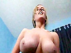 Super Sexy Girlfriend Shaking Her Tits