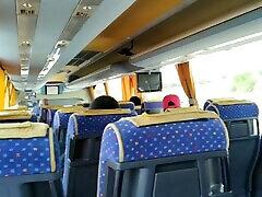 masturbã â¡ndome en el autobusų nuostabi cum visuomenės