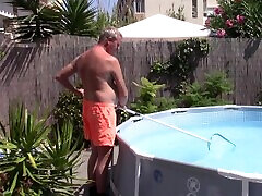 nxnxxxx video seachbbw mom ass anal sucks and fucks poolboy and gets huge creampie