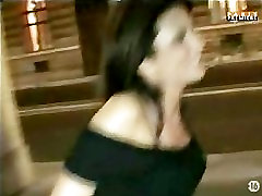 Hot French girl gets www porrn in in public...Really Sexy!