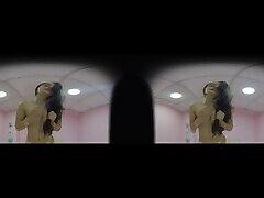 Luna sexy girl gagging sm VR