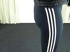 Tight Leggings on shemale