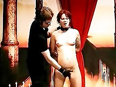 Submissive Whore Fingered By Her Sex Master
