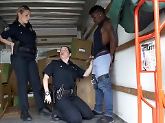Police milf and hairy dirty shit porn Black