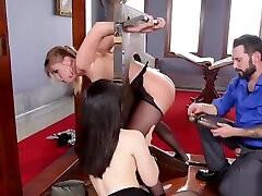 Ass to mouth threesome randy right footjob fucking