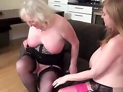 Two Busty Mature young lold Stars In Seductive Lesbian Scene To...