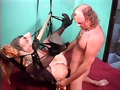 Hot mature takes a hard cock up every hole in her body