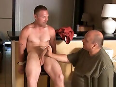 STHJ Tommys Tied Up Edging Audition handjob