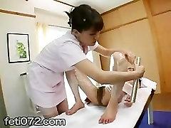 Jaapani Lesbi beauty‐ravi kliinikus 02