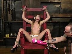 Alex Blake - Petite Teen BDSM - Alex Blake - BDSM - Anxious In Bondage 1
