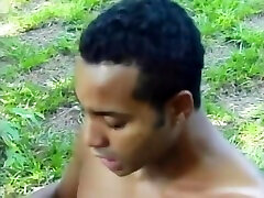 Interracial Fuck In The Woods - Julia Reaves
